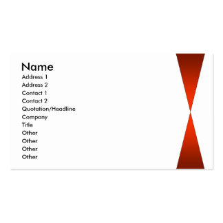 Twin Peaks Pack Of Standard Business Cards