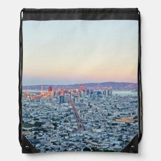 Twin Peaks San Fransisco Drawstring Bag