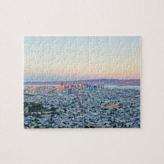 Twin Peaks San Fransisco Jigsaw Puzzle