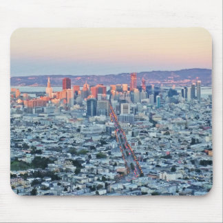 Twin Peaks San Fransisco Mouse Pad