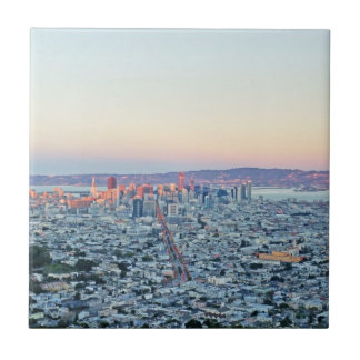 Twin Peaks San Fransisco Small Square Tile