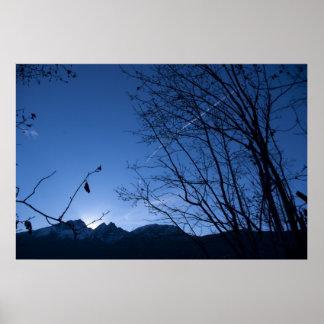 Twin Peaks Sunrise Print