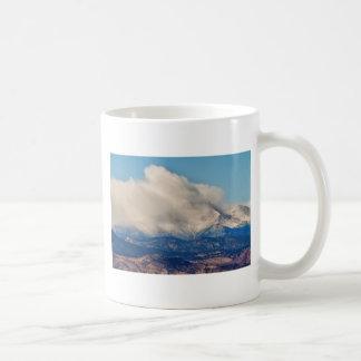 Twin Peaks Winter Weather View Coffee Mugs
