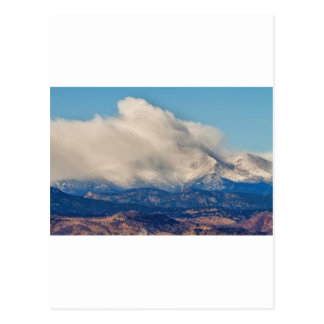Twin Peaks Winter Weather View Postcard