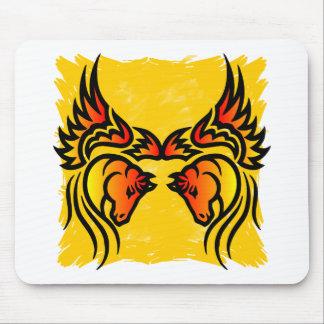 Twin Pegasus Mousepad