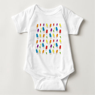 Twin Pops Pattern Baby Bodysuit