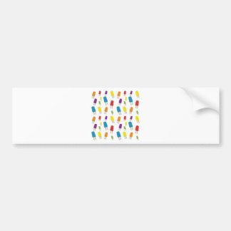 Twin Pops Pattern Bumper Sticker
