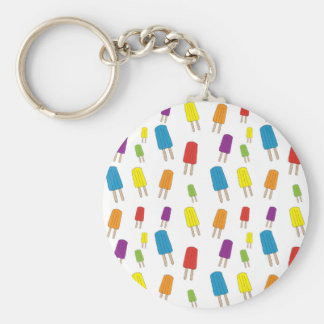 Twin Pops Pattern Key Ring