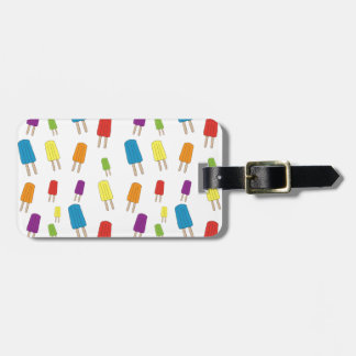 Twin Pops Pattern Luggage Tag