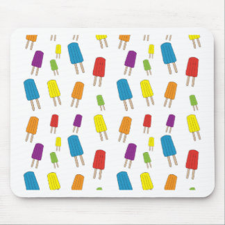Twin Pops Pattern Mouse Pad