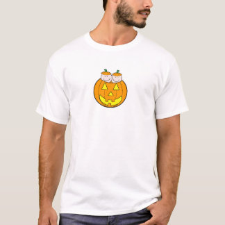 Twin Pumpkin Babies Graphic T-Shirt