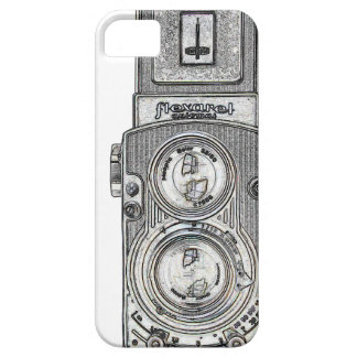 twin reflex TLR Camera Barely There iPhone 5 Case
