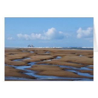 Twin Rocks Low Tide Notecard