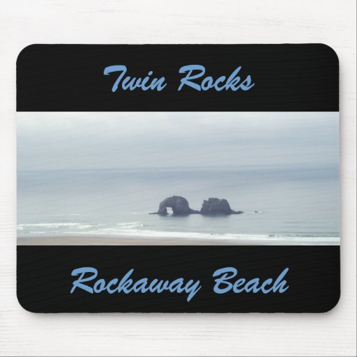 Twin Rocks Mouse Pad