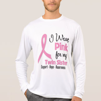 Twin Sister - I Wear Pink - Breast Cancer Tees