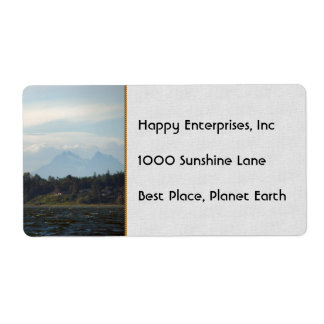 Twin Sisters Shipping Label
