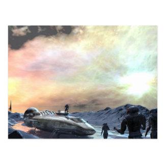 twin sun world postcard