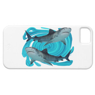 TWIN TIGER SHARKS iPhone 5 CASE