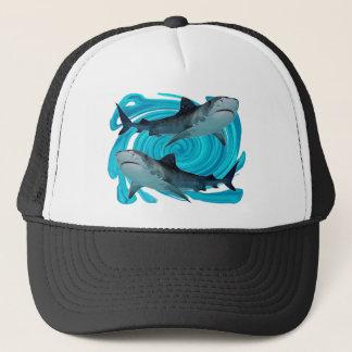 TWIN TIGER SHARKS TRUCKER HAT