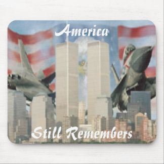 Twin Towers 9/11 Remembrance Mouse Pad