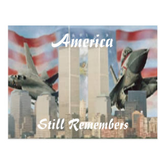 Twin Towers 9/11 Remembrance Postcard