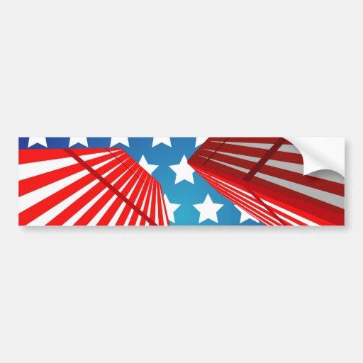 Twin Towers Bumper Sticker