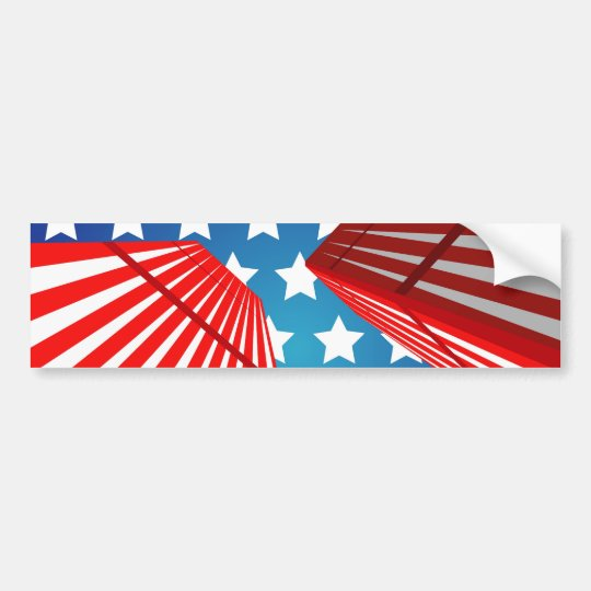 Twin Towers Bumper Sticker