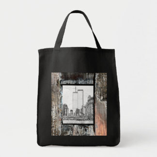 Twin Towers Grocery Tote Bag