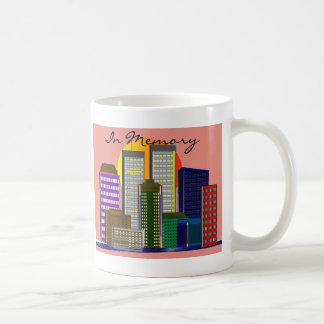 "Twin Towers, ""In Memory"" of 911 Mugs"