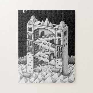 Twin Towers Jigsaw Puzzle