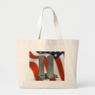 Twin Towers Jumbo Tote Bag