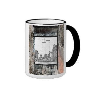 Twin Towers Ringer Mug
