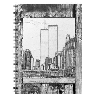 Twin Towers Spiral Notebooks