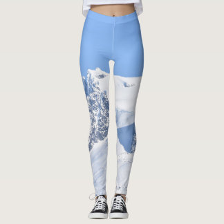 Twin Towers of the Mendenhall Glacier Leggings