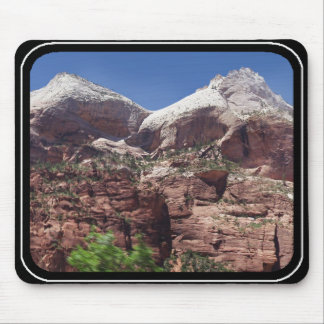 Twin Towers of the Virgin River, Zion Mouse Pads