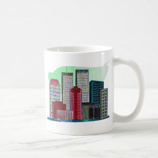 Twin Towers OIL PAINTING #1 Coffee Mugs