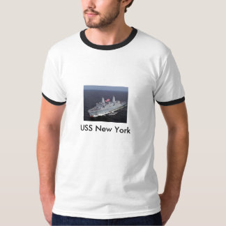Twin Towers Ship, USS New York T-Shirt