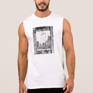 Twin Towers Sleeveless T-shirts