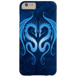 Twin Tribal Dragons, Blue