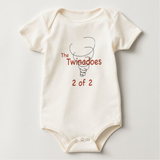 Twinadoes 2 of 2 baby bodysuit