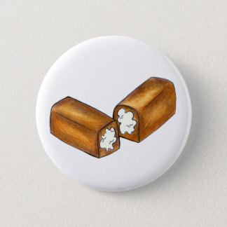 Twinkie Cream-Filled Snack Cake Junk Food Button