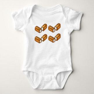 Twinkie Cream-Filled Snack Cake Junk Food Twinkies Baby Bodysuit