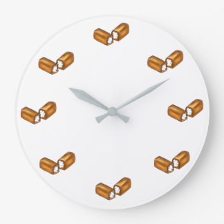 Twinkie Cream-Filled Snack Cakes Junk Food Clock