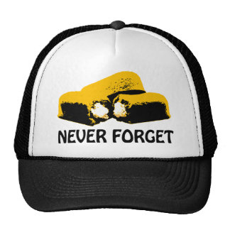 Twinkies Never Forget high contrast design Cap