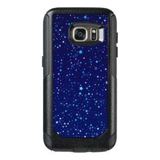 Twinkle Blue Stars2 OtterBox Samsung Galaxy S7 Case
