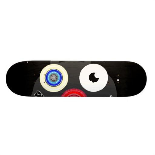 """Twinkle eye cat"" Skate deck"