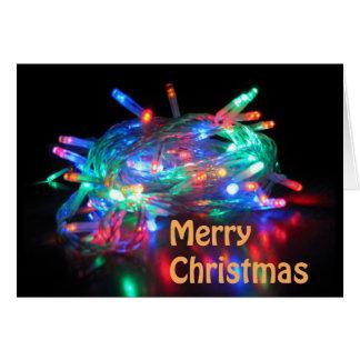 Twinkle Lights Merry Christmas Card