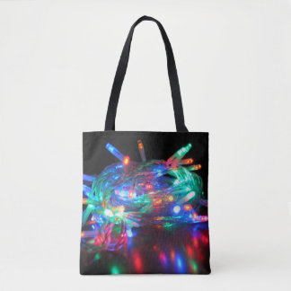 Twinkle Lights Tote or Crossbody Bag