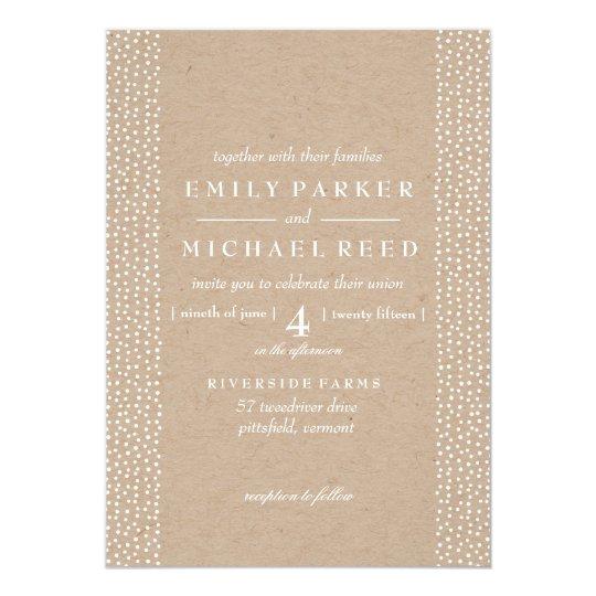 Twinkle Lights - Wedding Invitation