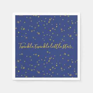 Twinkle Little Star Baby Shower Paper Napkins Paper Napkin